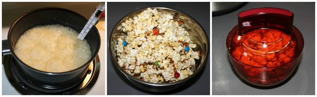 Snack Mix Popcorn Mixture