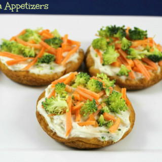 Veggie Pizza Appetizers