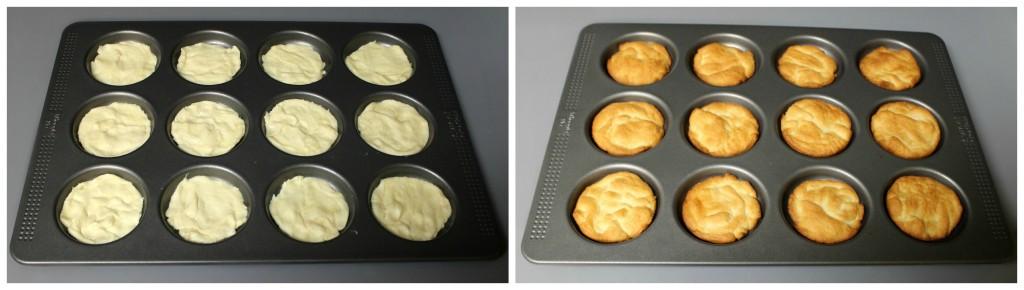 Crescent Dough in Whoopie Pie Pan