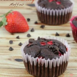 Chocolate Strawberry Muffins