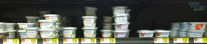 Walmart, shopping, cream cheese shelf, #shop, #cbias