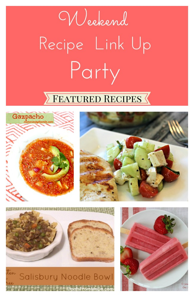 Weekend Recipe Link Up Party Featured Recipes from 7