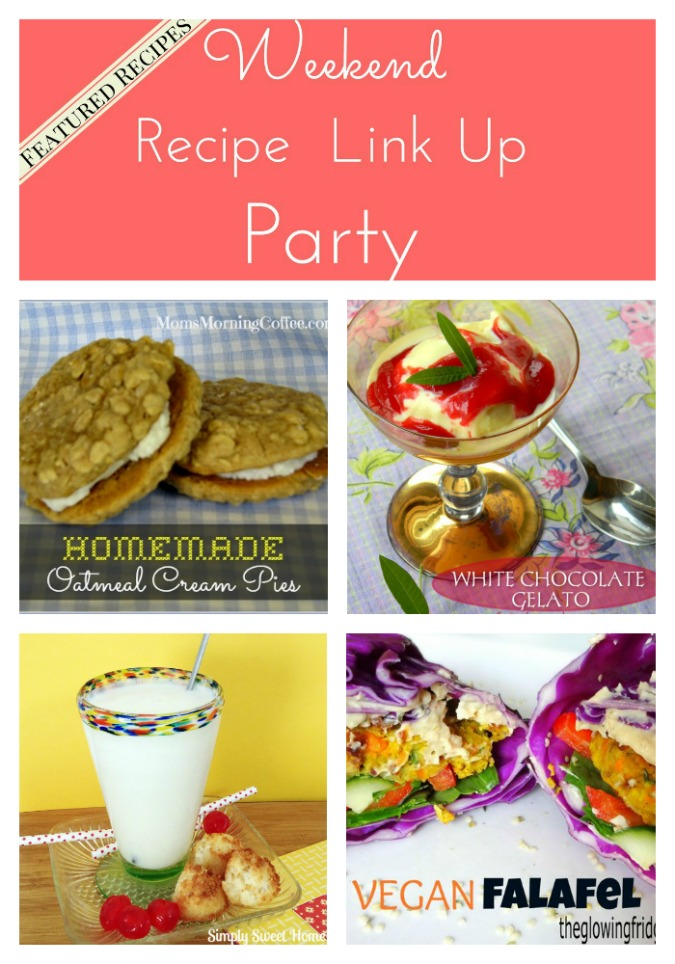 Featured Recipes in Weekend Recipe Link Up Party from 8
