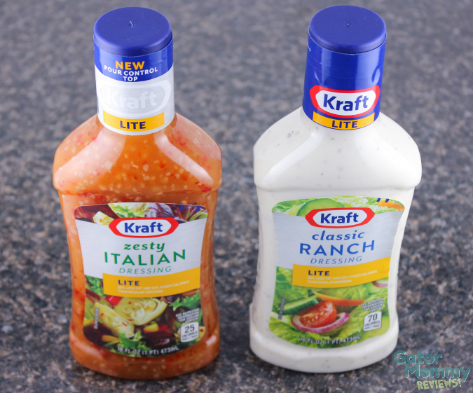 Kraft Pourable Dressings #shop #FoodDeservesDelicious