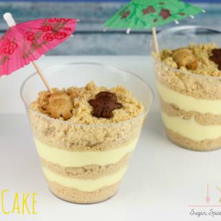 Sand dirt cake