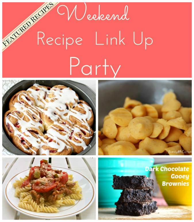 Weekend Recipe Link Up Party Featured Recipes 21
