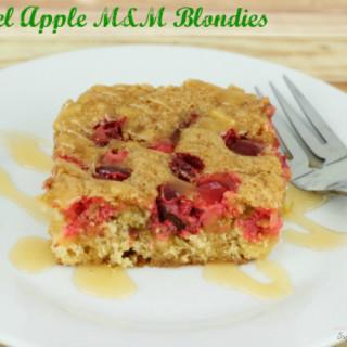 Caramel Apple M&M Blondie