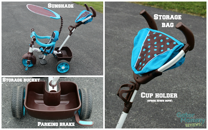 Little Tikes 4-in-1 Sports Edition Trike features