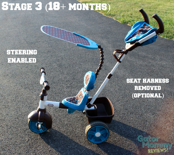 Little Tikes 4-in-1 Sports Edition Trike stage 3