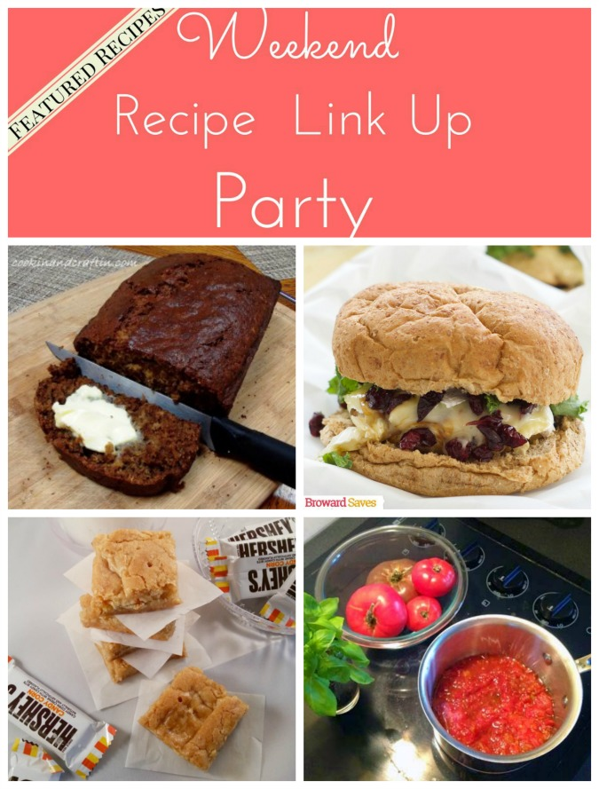 Weekend Recipe Link Up Party featured recipes 28