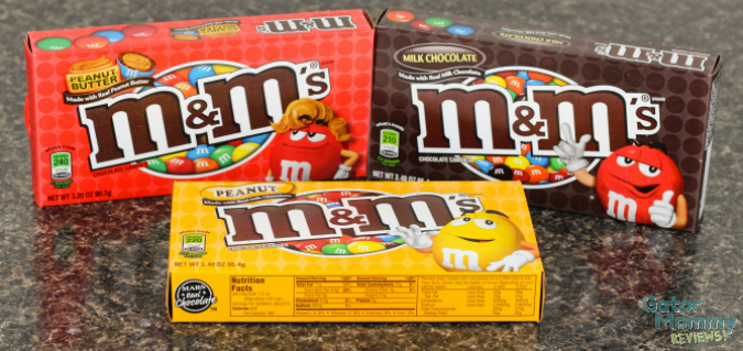 M&M boxes #MovieNight4Less #ad #cbias