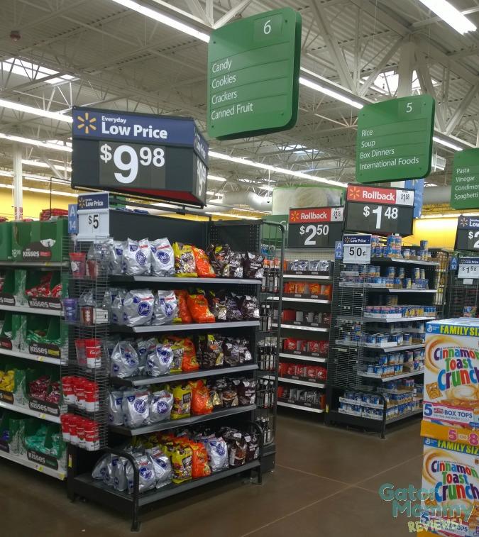 Walmart Cracker Aisle #PBandG #ad #cbias