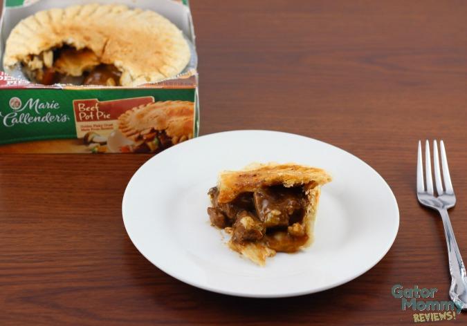 Marie Callender's Beef Pot Pie baked #CollectiveBias #EasyAsPotPie