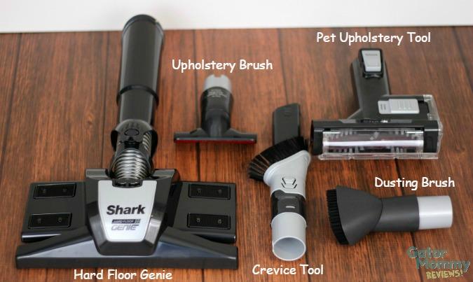 Shark Powered Lift-Away accessories
