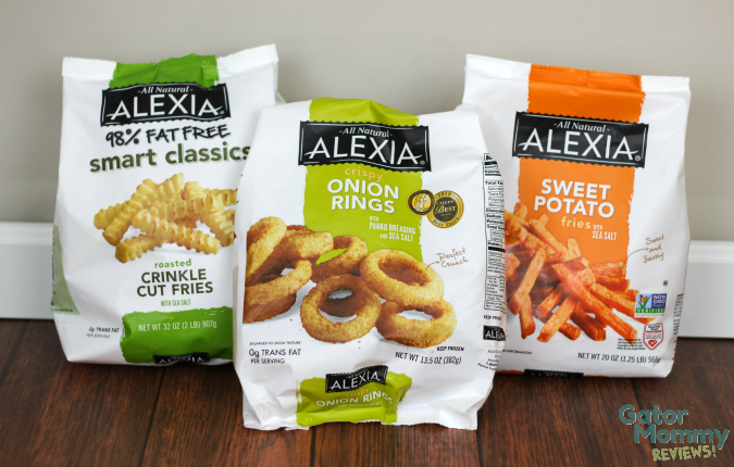 Alexia Frozen Fries and Onion Rings