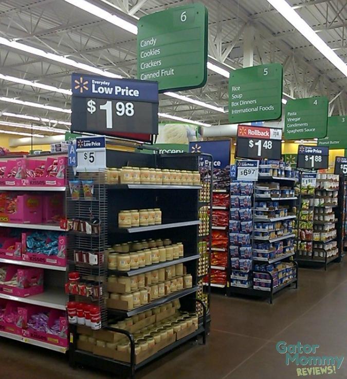 Walmart Candy Aisle