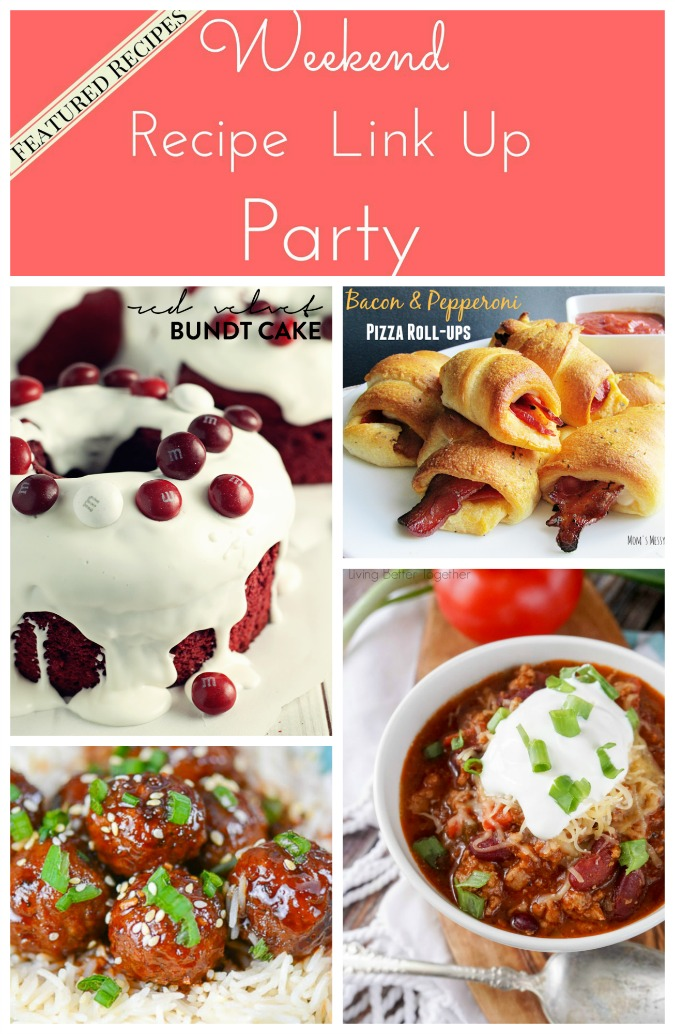 Weekend Recipe Link Up Party featured recipes 43
