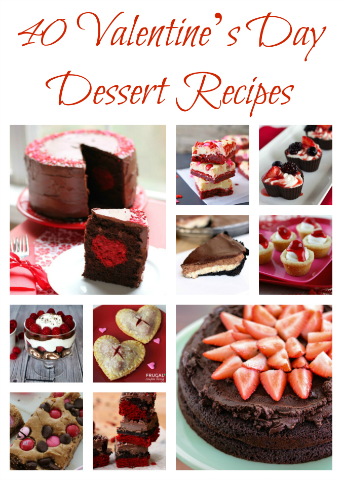 40 Valentine's Day Dessert Recipes