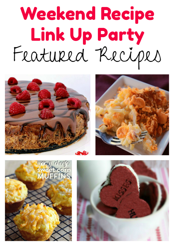 Weekend Recipe Link Up Party featured recipes 45