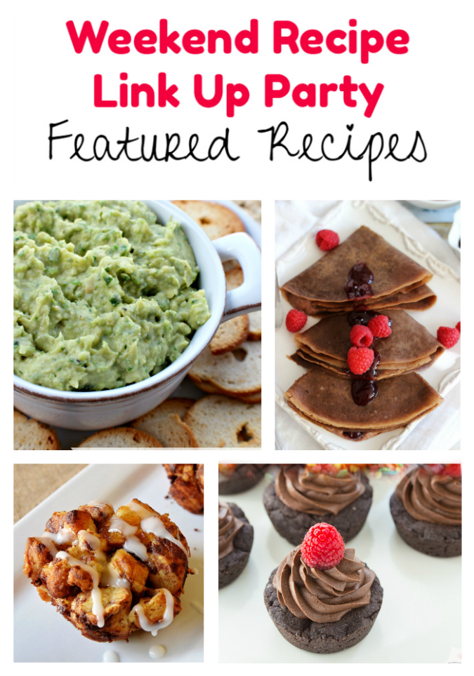Weekend Recipe Link Up Party featured recipes 46