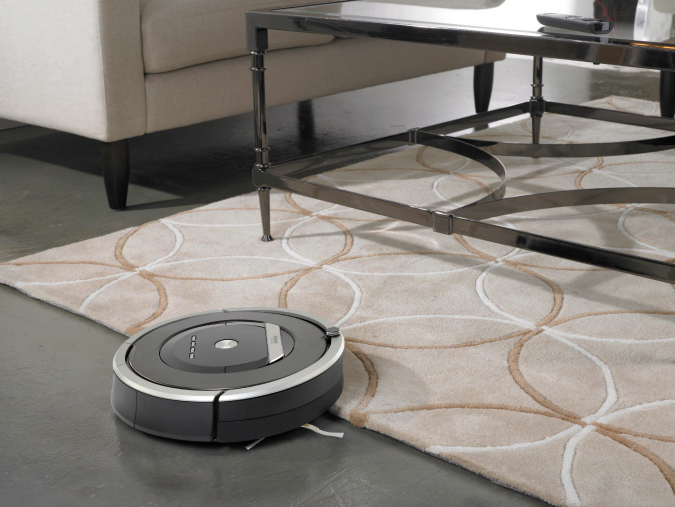 iRobot Roomba cleaning