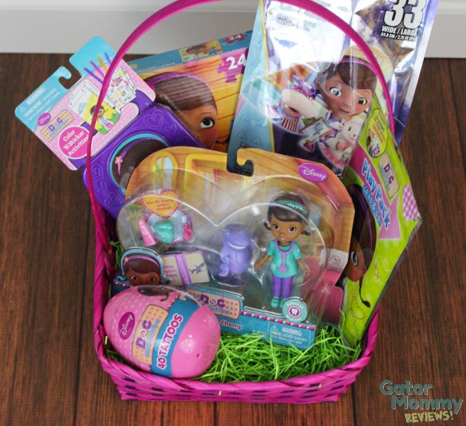 Doc McStuffins Easter Basket