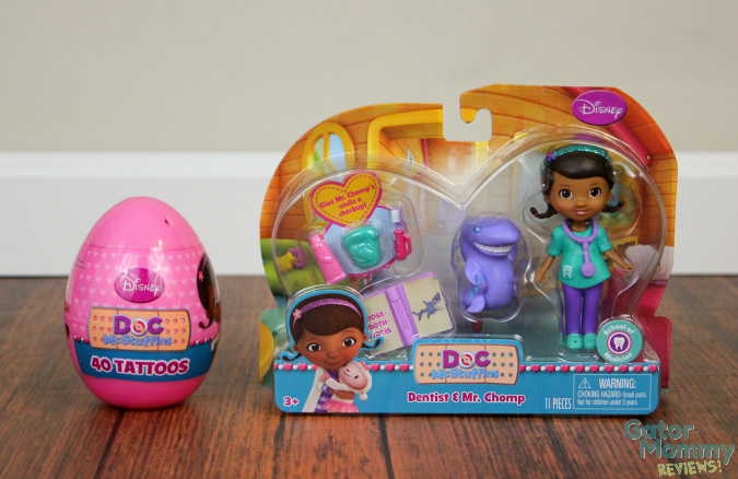 Doc McStuffins Toy and Tattoos