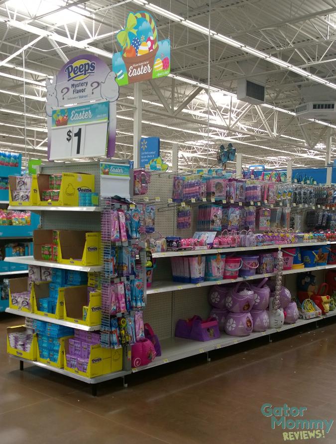 Easter Aisle at Walmart