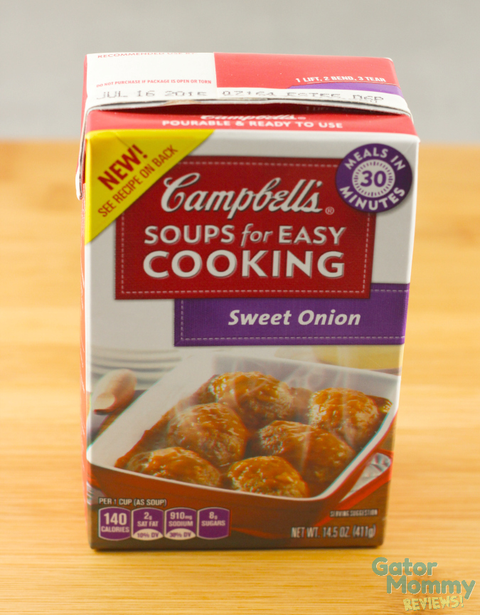 Campbell's Easy Cooking Soup Sweet Onion