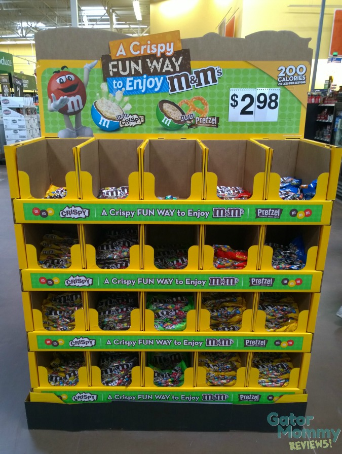M&M's® display at Walmart