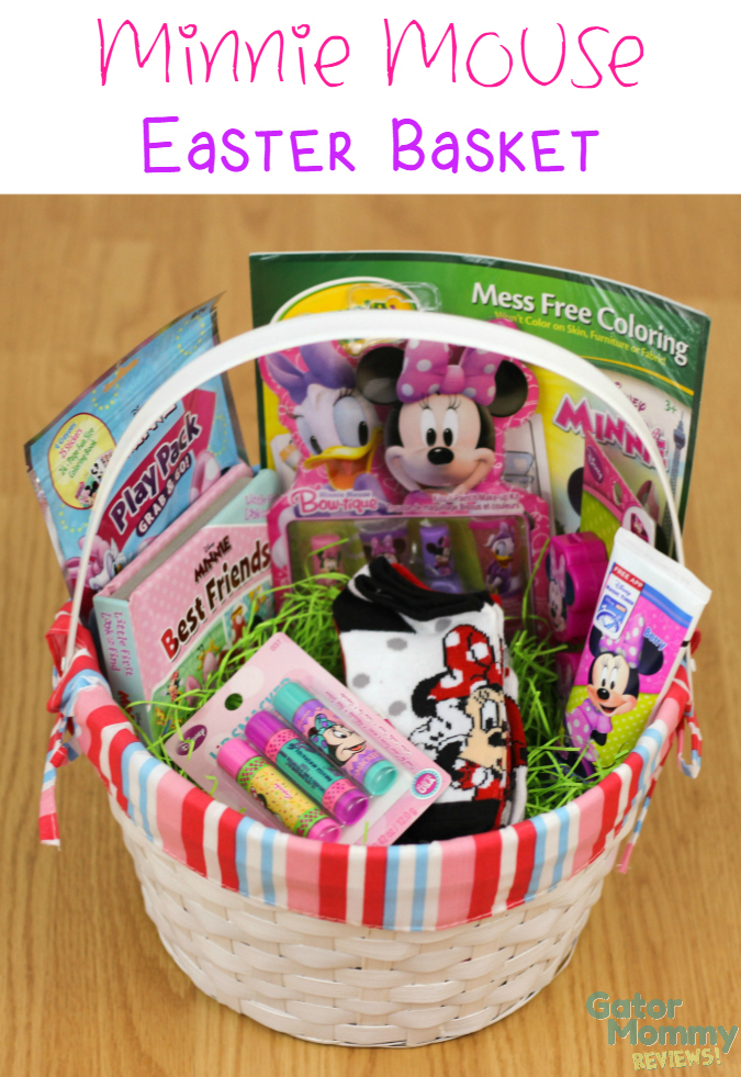 Minnie Mouse Easter Basket