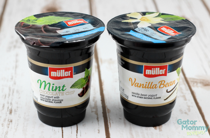 Muller Ice Cream Inspired Yogurts
