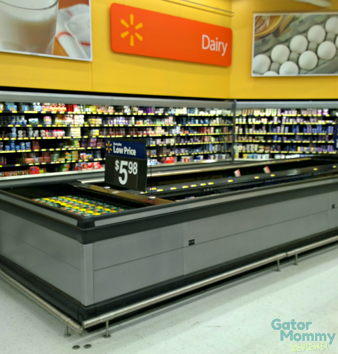 Walmart Dairy Aisle