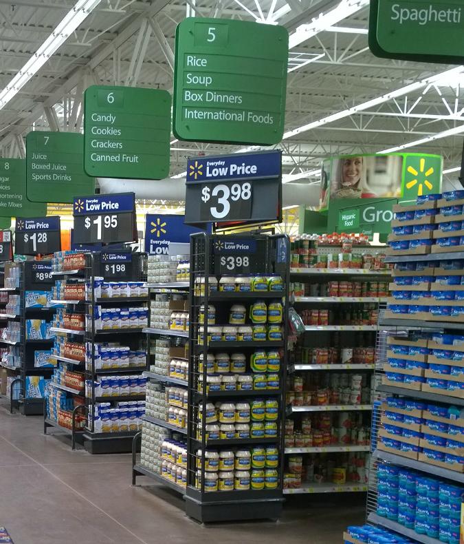 Walmart Soup Aisle