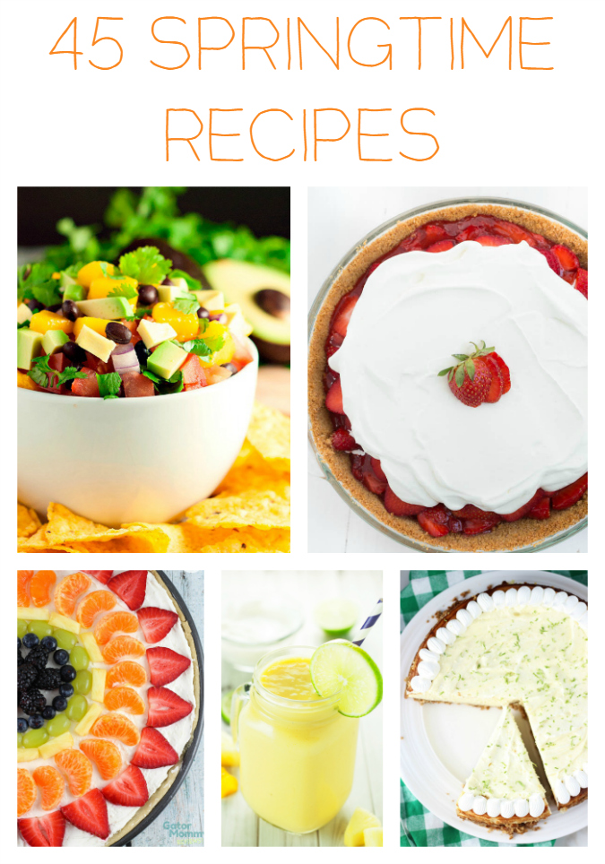 45 Springtime Recipes