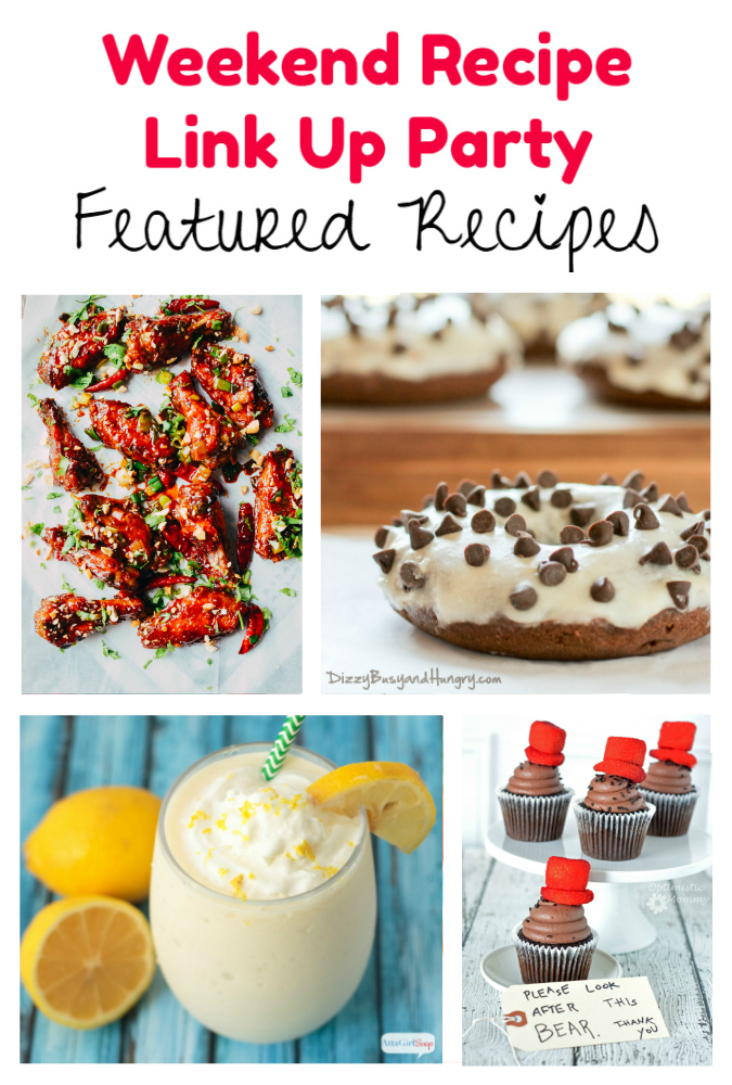 Weekend Recipe Link Up Party featured recipes 56