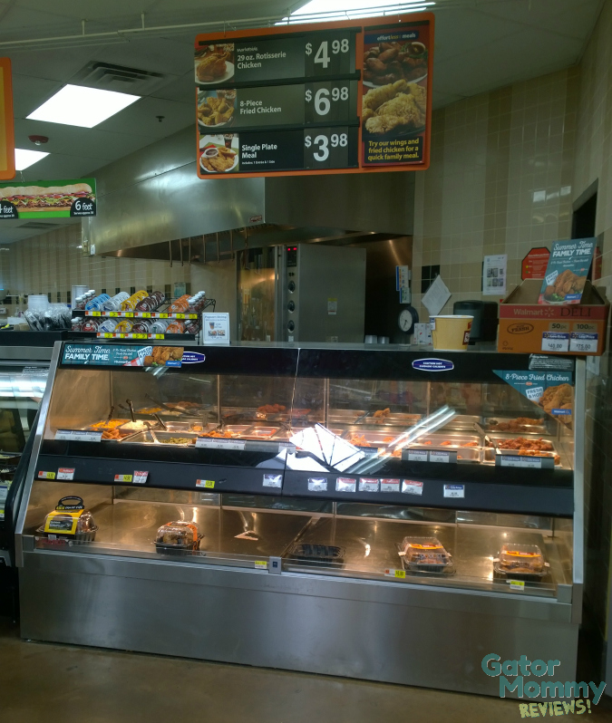 Walmart Ready to Eat Hot Food