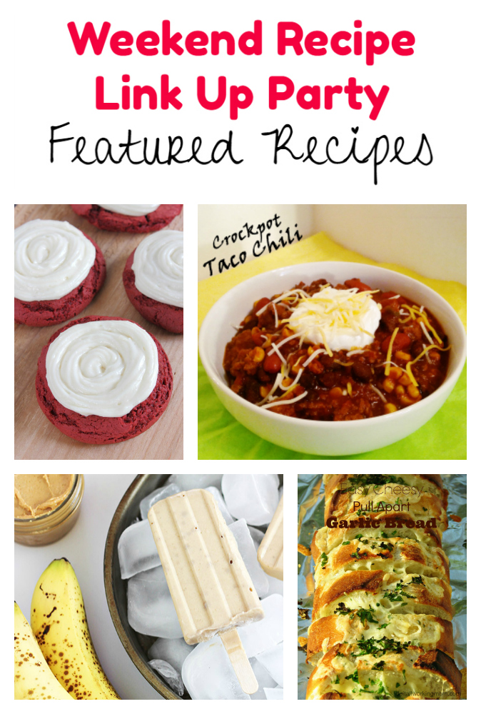 Weekend Recipe Link Up Party featured recipes 61