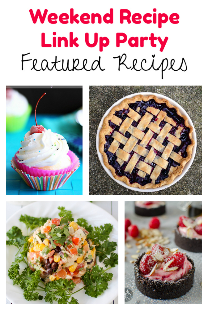 Weekend Recipe Link Up Party featured recipes 65