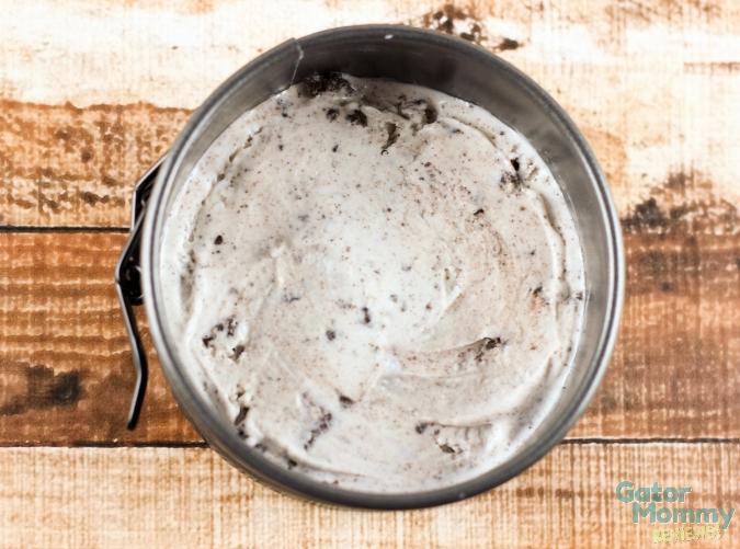 Ice Cream for Cookies and Cream Ice Cream Sandwiches