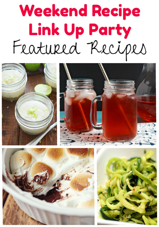 Weekend Recipe Link Up Party featured recipes 69