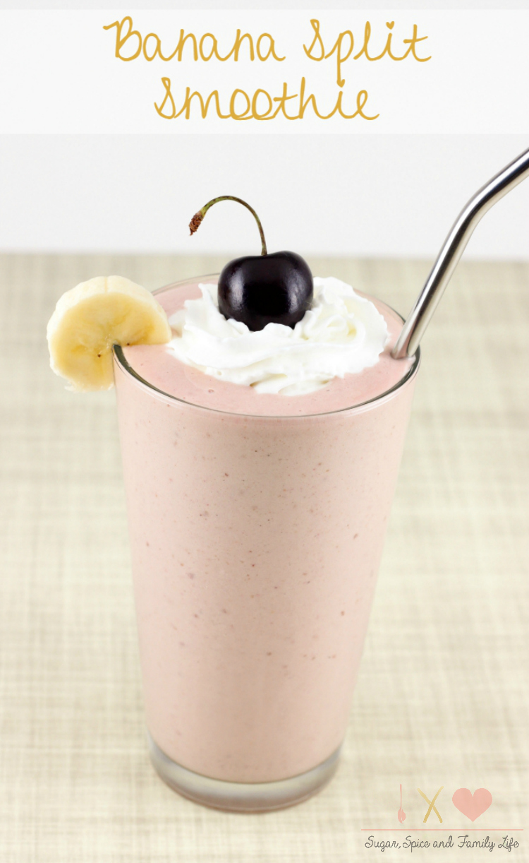 Banana Split Smoothie