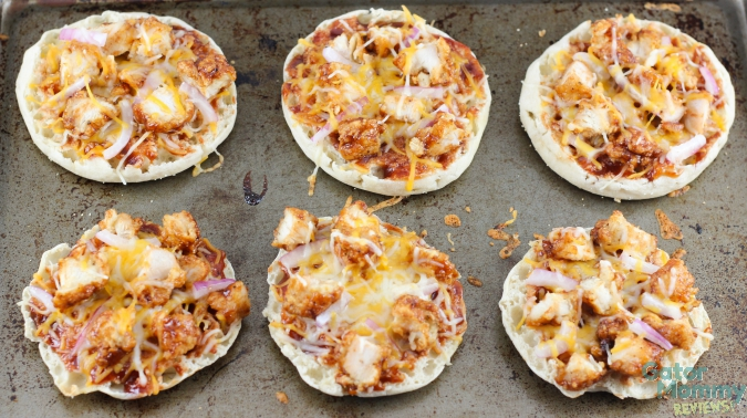 Mini Barbecue Chicken Pizzas