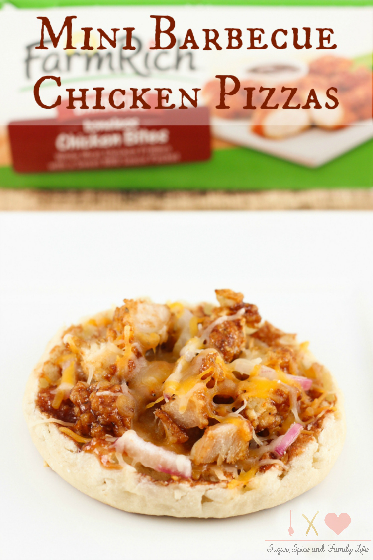 Mini Barbecue Chicken Pizza