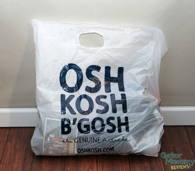 Osh Kosh B'Gosh shopping bag