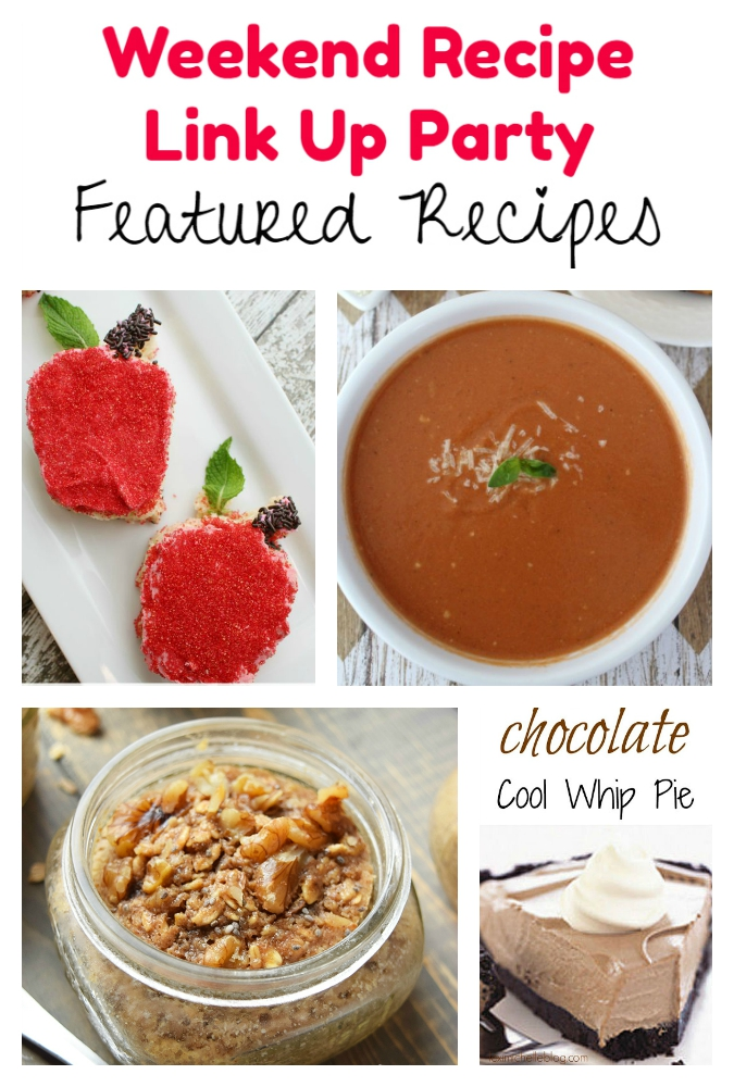 Weekend Recipe Link Up Party featured recipes 74