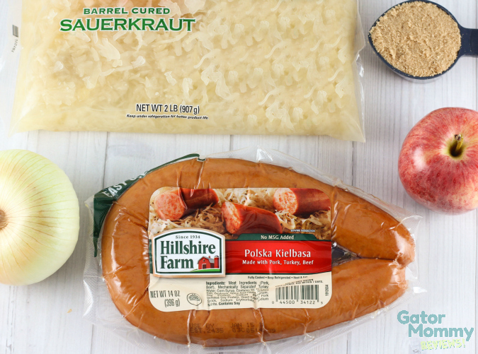 Kielbasa and Sauerkraut