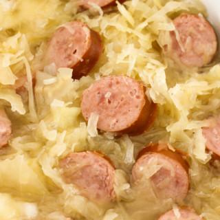Kielbasa and Sauerkraut