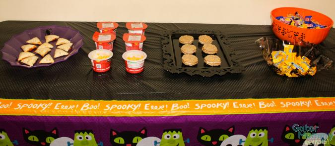 Halloween Snack Table