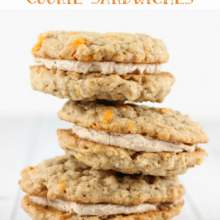 Pumpkin Spice Cookie Sandwiches